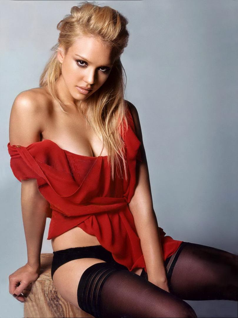 Jessica alba fantastic four underwear
