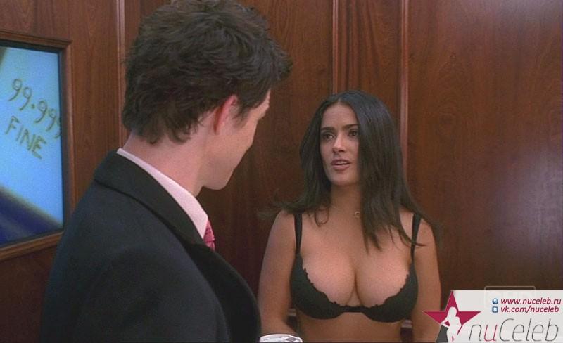 Обнаженная Грудь Сальмы Хайек – Фрида (2002)