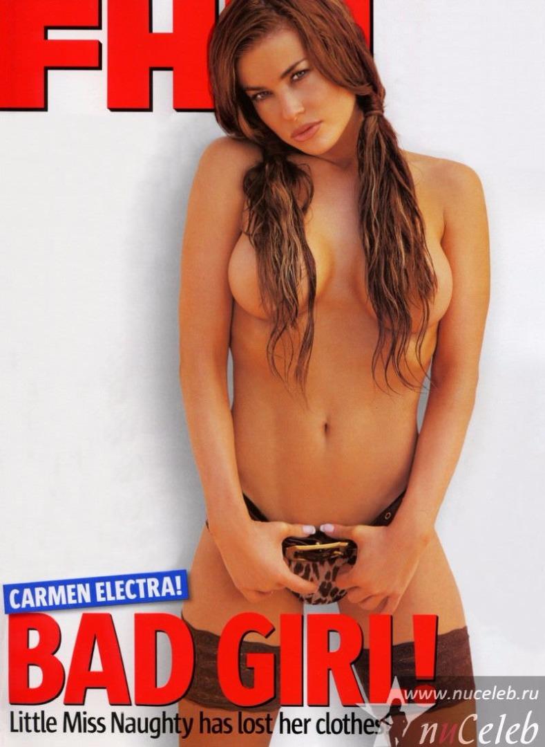 Голая кармен электра в журнале плейбой