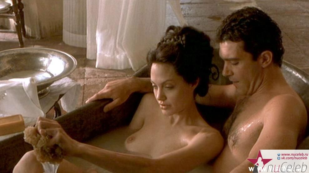 angelina jolie nude movie scene № 57063